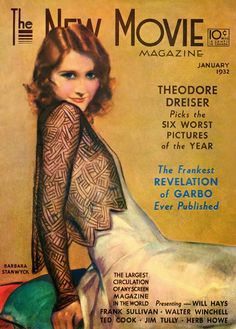 Cover of The New Movie Magazine, January 1932