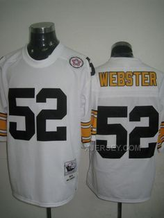 http://www.xjersey.com/pittsburgh-steelers-52-webster-white-jerseys.html PITTSBURGH STEELERS 52 WEBSTER WHITE JERSEYS Only $34.00 , Free Shipping!