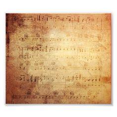 Antique Music Photo Art