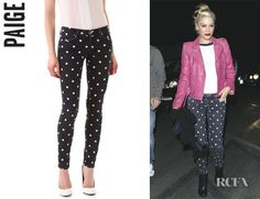 Polka Dot skinnies are perfect for Gwen Stefani!