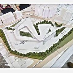 Instagram photo by arquitecturanew - diseño IX / terminal inter-urbano / @diliarvelaez #arquitecturanew #arquitectura #diseño #desing #maqueta #maquette #archite