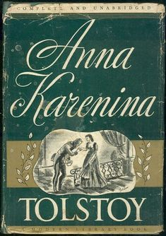 """Read """"Anna Karenina"""" by Leo Tolstoy available from Rakuten Kobo. Anna Karenina is a pearl of Russian classic literature and one of the most popular book in the world. I Love Books, Good Books, Books To Read, My Books, Reading Books, Classic Literature, Classic Books, Vintage Book Covers, Vintage Books"""