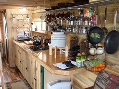 some storage ideas for the camper