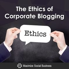 Business ethics billy madison business ethics pinterest ethics of corporate blogging fandeluxe Choice Image