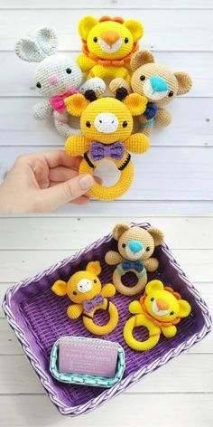 Mesmerizing Crochet an Amigurumi Rabbit Ideas. Lovely Crochet an Amigurumi Rabbit Ideas. Crochet Baby Toys, Newborn Crochet, Cute Crochet, Crochet For Kids, Crochet Dolls, Baby Knitting, Free Knitting, Amigurumi Free, Amigurumi Doll
