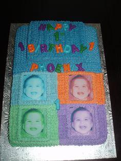 Four Squares Cake