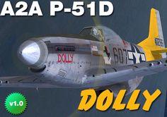 a  P-51D skin made for A2A P-51D by Tom Weiss , hosted at www.lockonfiles.com