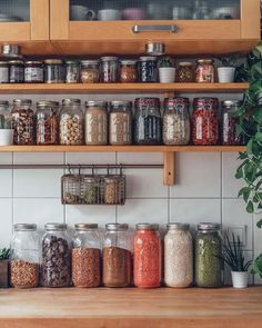 The place where my dreams are made - my kitchen pantry Kitchen Organization Pantry, Home Organisation, Kitchen Pantry, Kitchen Dining, Kitchen Decor, Pantry Design, Cuisines Design, Kitchen Interior, Cheap Home Decor