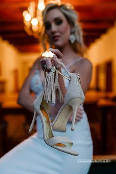 Ashanti is a modern silhouette that is accented with a micro-suede tassel with Crystal trims, that drapes down the front of your foot. The gold zip at the back makes Ashanti easy to fit. Bridal Shoes, Wedding Shoes, On Your Wedding Day, Tassel, Heel, Silhouette, Zip, Crystals, Stylish