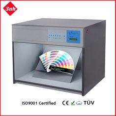 T60(5) color light booth with D65/TL84/UV/F/CWF light sources