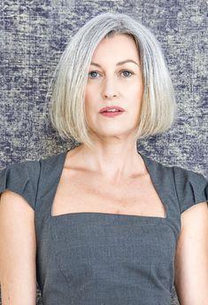 Grey Hair Dye For Black Hair, Grey Wig, Short Grey Hair, Short Hair Cuts For Women, White Hair, Wig Styles, Short Hair Styles, Latest Short Hairstyles, Pixie Hairstyles