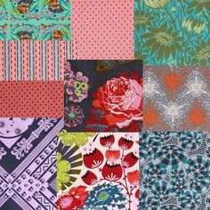 Anna Maria Horner's Loulouthi fabric line, 'Juliana' palette