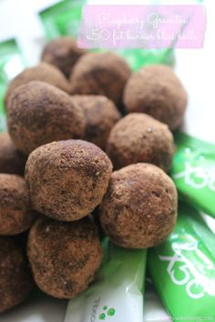 Raspberry Green Tea x50 Fat Burner Bliss Balls