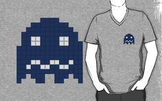 Pac-Man Blue Ghost by Psocy  http://www.facebook.com/psocyshop