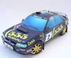 WRX New Zealand Rally 1995 Subaru Impreza Free Paper Model Download