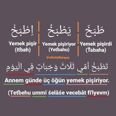 Learn Turkish Language, Arabic Language, Turkish Lessons, Quran Arabic, Language Quotes, How To Speak French, Learning Arabic, Abayas, Education