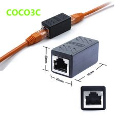 >> Click to Buy << RJ45 Ethernet Network Net LAN Plug Cable Join Extension Adapter 8P8C  RJ-45 Connector Coupler #Affiliate