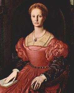 Charles Fonseca: Retrato de Lucrécia Panciatichi. Agnolo Bronzino.