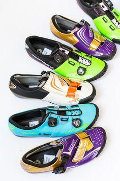 TPU Self-locking cycling shoes.