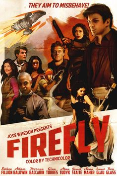 Firefly (2002-2003) is an American space western drama television series created by writer and director Joss Whedon. Loved this series ! Bring it back !! I still can't believe it only lasted 1 season before being cancelled. Thank goodness for the movie SERENITY for much needed closure.