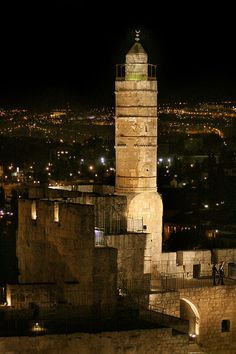 The Tower of David--would love to see this again