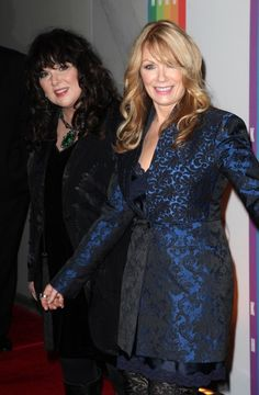 Rock and Roll Hall of Fame inductees of 2013!! Ann and Nancy Wilson!! :D <3