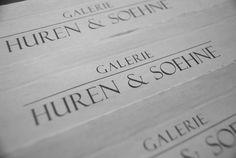 Galerie Huren & Soehne – Galeriezeitung Ausgabe Nr. 1