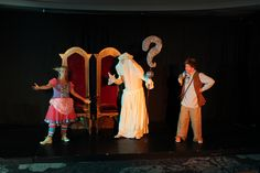 It's Princess Pumpalot, FAQ and Guffy on stage during the 2015 Edinburgh Festival Fringe run of Princess Pumpalot: The Farting Princess at Sweet Venues. #Fart2015
