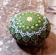 Mandala Stone in Matte Finish