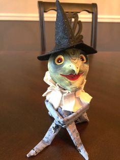 Vintage Inspired Witch Knee Hugger Doll by theplumchum on Etsy https://www.etsy.com/listing/572419370/vintage-inspired-witch-knee-hugger-doll