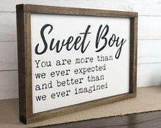 Boy Nursery sign, Baby shower gift, Kids room wood sign, Baby room decor wooden sign, Farmhouse nursery, Rustic Nursery, Wall Decor, Gift Rustic Nursery Boy, Rustic Baby Rooms, Baby Boy Nursery Decor, Nursery Ideas, Nursery Signs, Baby Bedroom, Nursery Room, Boy Room, Baby Boy Diy Gifts