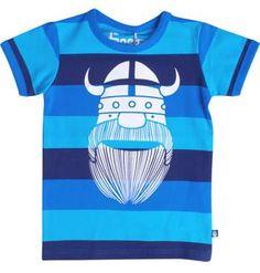 Danefae s/s Viking tee - Crystal Erik Retro Baby Clothes - Baby Boy clothes…