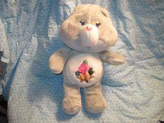 Care Bears Vintage Care Bear Teddy Bear by Daysgonebytreasures