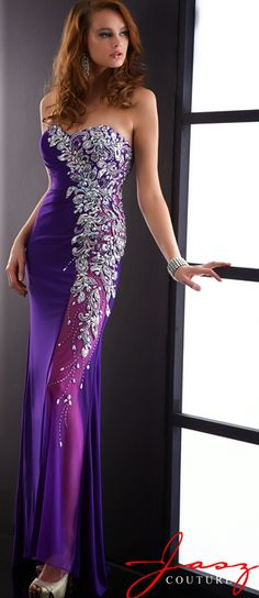 JASZ Couture Evening Dresses<BR>Prom Dresses<BR>Pageant Dresses<BR>5057<BR>Your Shining Moment!