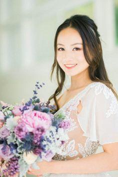 Lavender Wedding Bouquet - Donna Lams Photo