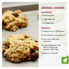 Makes 15 cookies , 2 cookies count as 1 smart carb on the Nutrisystem program