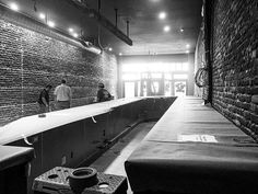 If you're a #bartender at The #Bar this is where you'll enter. Look at all the work surface. @Morgans_On_Main #construction #visitwoodland