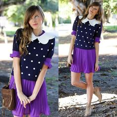 When life gives you lemons, make grapejuice!  (by Steffy Kuncman) http://lookbook.nu/look/2811127-when-life-gives-you-lemons-make-grapejuice