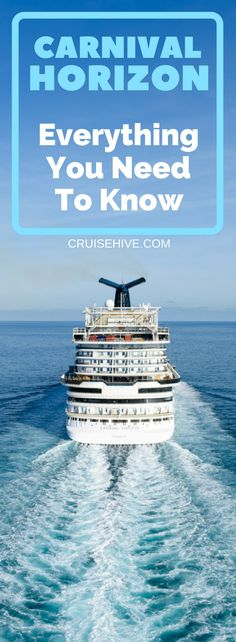 Here's everything you need to know about Carnival Horizon. Latest cruise tips and price drops for your next cruise vacation on the ship. #cruise #traveltips #cruisetips #carnivalcruise