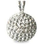Pendentif style Shamballa Cristal de Bohême 8.99€ http://www.i-perles.fr/bijoux-pendentif-perle-style-shamballa-ronde-deluxe-crystal-16mm-hlr156-p-30497.html
