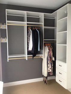 I love classic white and clean lines when organizing! - California Closets Designer Jami Goodman