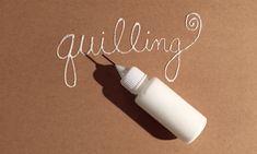 quilling glue