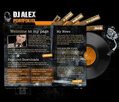 wedding dj web templates - Google Search | DJ equipment and ideas ...