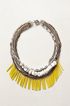 Elotes Layered Necklace #anthropologie