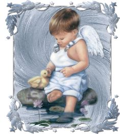 Angels gif by dstorms Angel Images, Angel Pictures, Cute Pictures, Lil Boy, Little Boys, Baby Boy, Gifs, Baby Engel, Glitter Gif