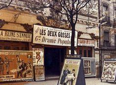 Photo d'Autochrome, Palais des Gobelins, Paris, 1918