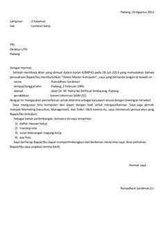 contoh format surat block style essay