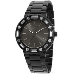 d70b03c3770 Relógio Euro Feminino Analógico Brilho Assimétrico EU2035XZA 4P-Preto - euro