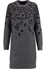 Rag & boneIsadora leopard intarsia-knit sweater dress