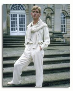 Lord Sebastian Flyte (Anthony Andrews) in the 1981 adaptation of 'Brideshead Revisited'